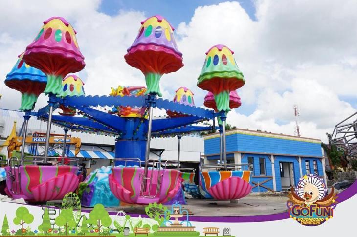Berbagai Wahana Di Go Fun Bojonegoro Theme Park